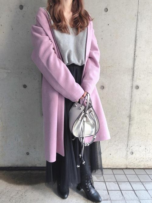 [fifth] チュールロングスカート