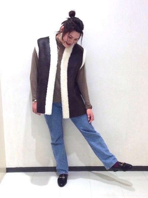 [ORiental TRaffic] ★ビットモチーフローファー★1126