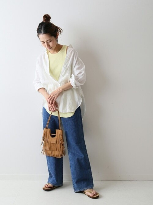 [Spick & Span] 【NOMADIS】 BETTY フリンジBag◆