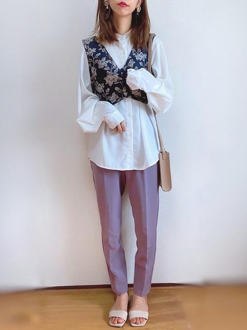 しまむらで作る大人の秋ファッション3