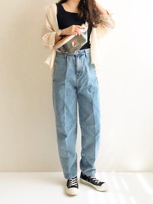 低身長×ぽっちゃりさんの秋パンツコーデ5