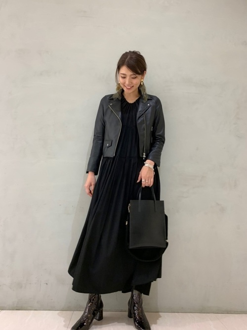 [STUDIOUS WOMENS] 【STUDIOUS】モイストラム ダブルライダースジャケット