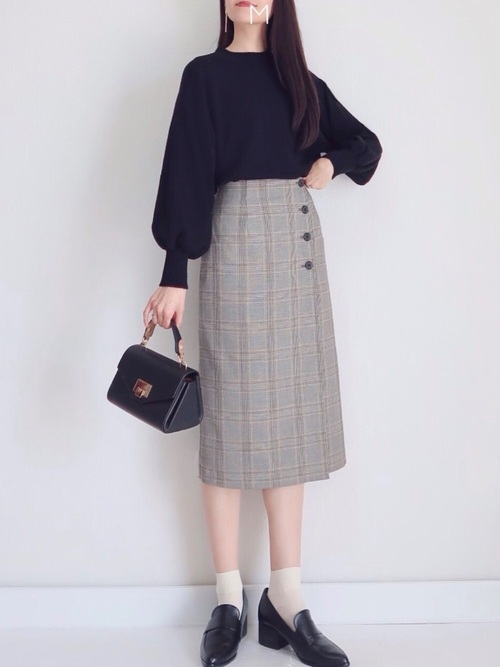 ユニクロのプチプラ秋ファッション6