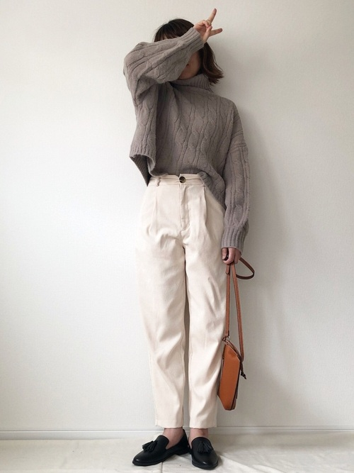 GUのプチプラ秋ファッション7