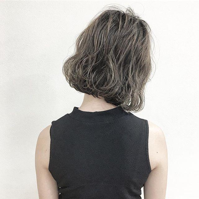 冬のトレンドヘアカラー《アッシュ》3