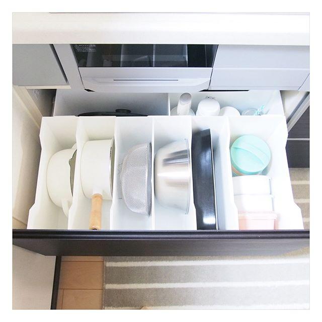 ニトリのファイルボックス収納【キッチン用品】
