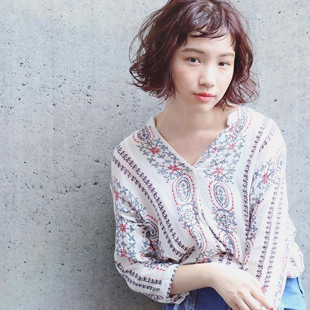 冬に人気のトレンドボブ【前髪あり】5