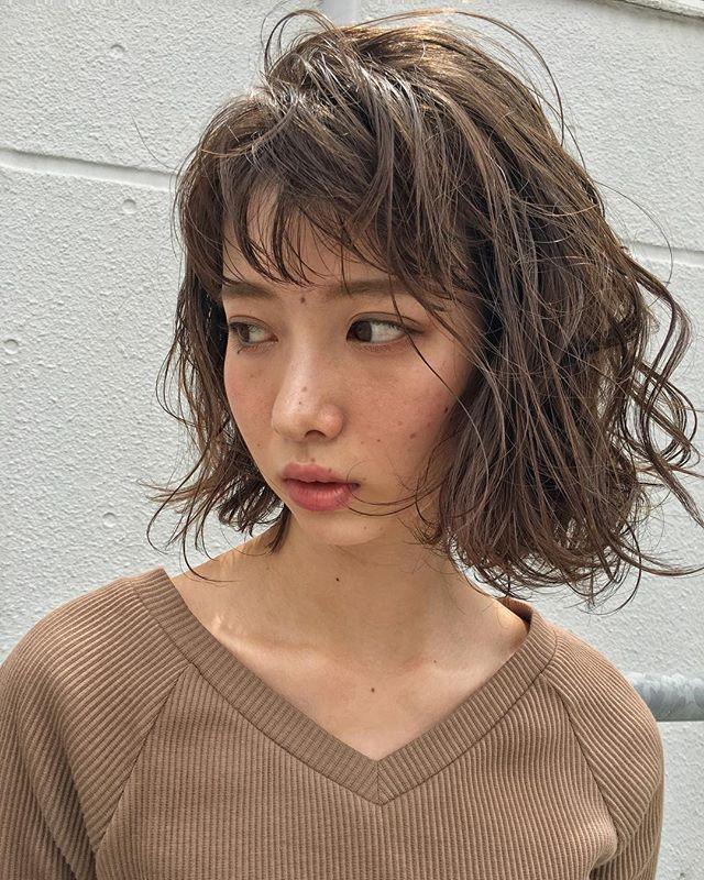 冬に人気のトレンドボブ【前髪あり】2