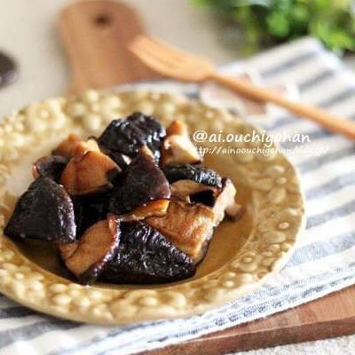 和風の副菜に。しいたけの佃煮