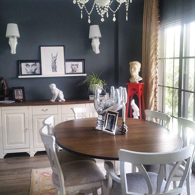 家具とコントラストを付ける