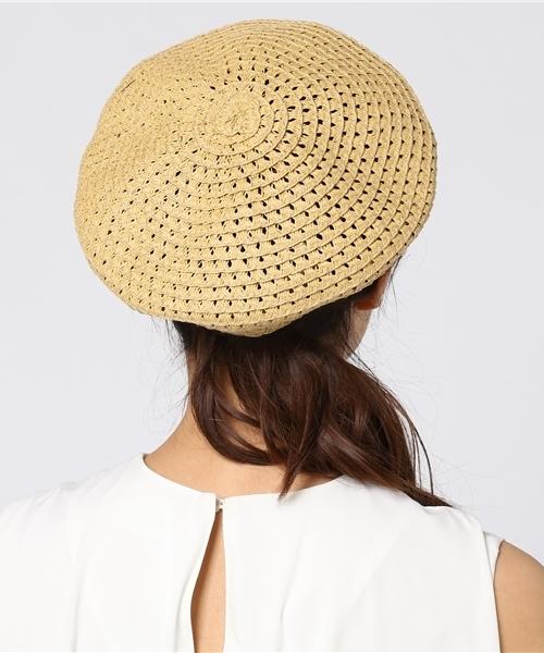 ベレー帽に似合うロングヘアアレンジ【春夏】4