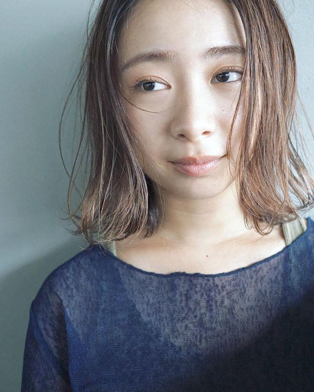 冬に人気のトレンドボブ【前髪なし】2