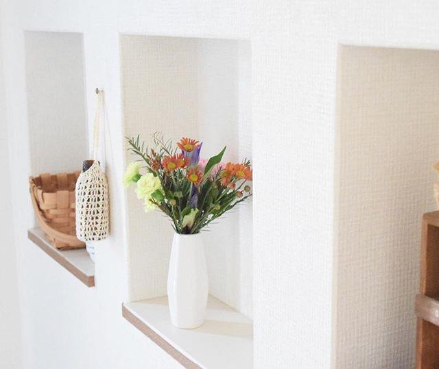 おしゃれ玄関ニッチの飾り方《植物》6