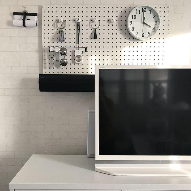 壁の簡単DIY17