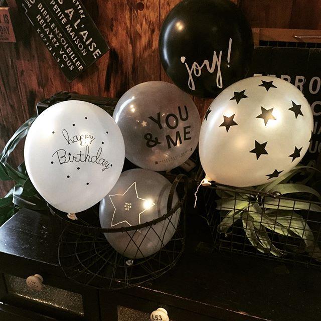 彼氏の誕生日の飾り付け〈バルーン〉