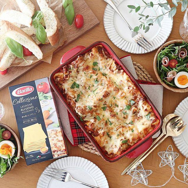 定番のイタリア料理。ボロネーゼラザニア