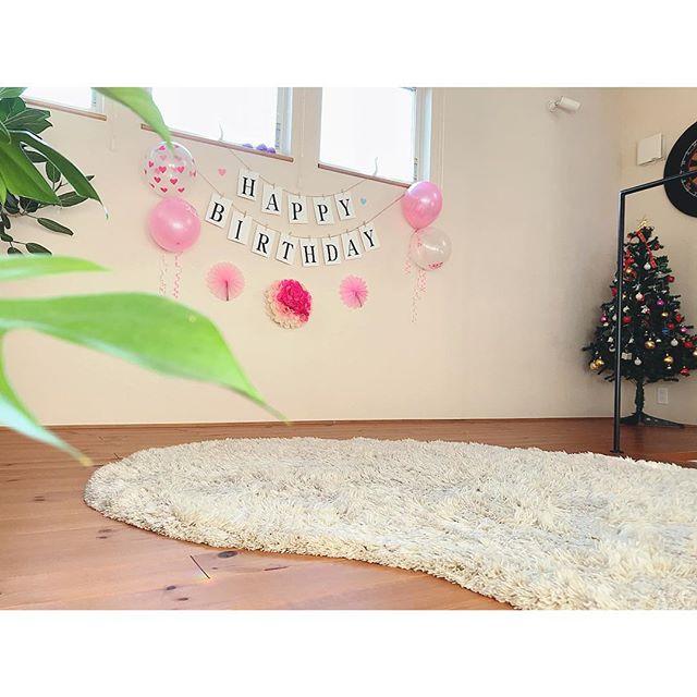 誕生日のおしゃれな飾り付け5