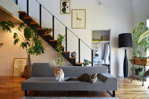 階段がお洒落な住まいのインテリア7