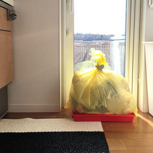 大掃除の前のゴミ収集日のチェック