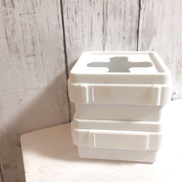連結できて便利なキャンドゥの収納ボックス
