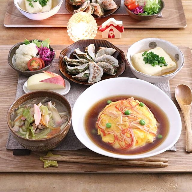 美味しい中華。カニカマ天津飯