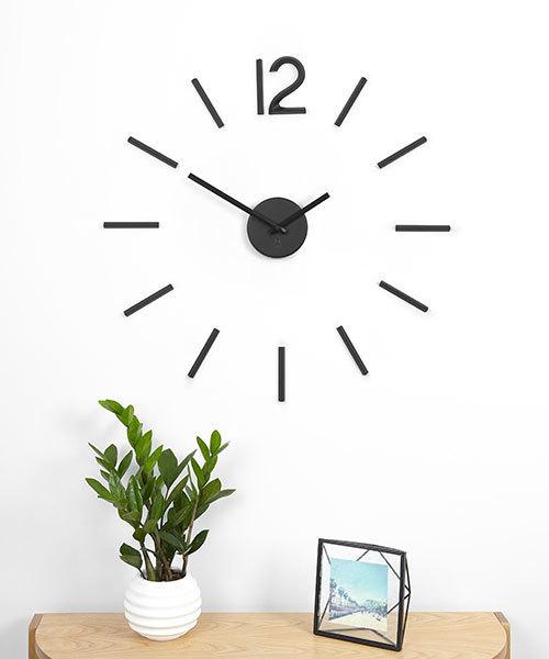 自由に貼れるおしゃれな壁掛け時計