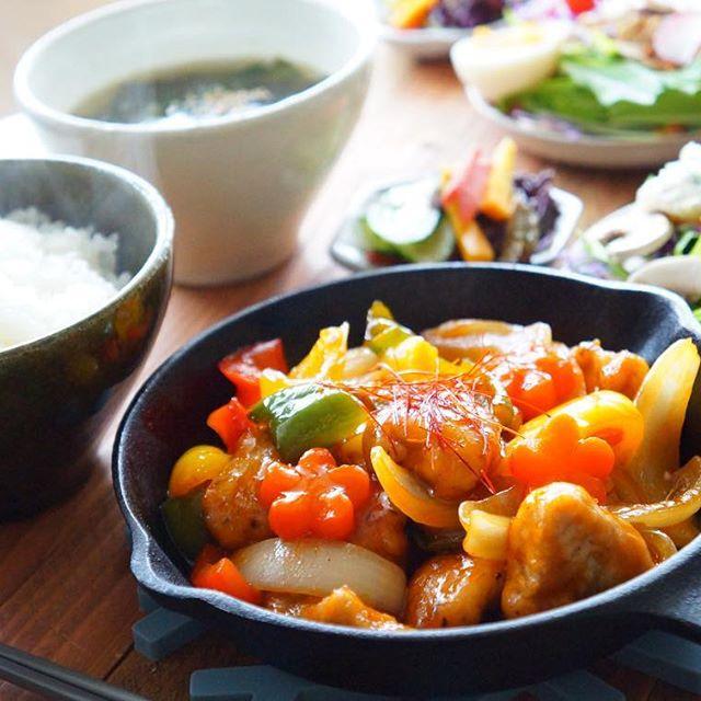 野菜たっぷりの夕飯☆メイン肉料理4