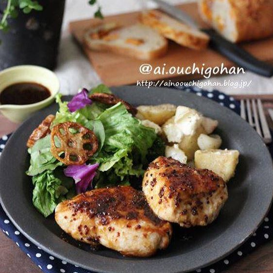 ヘルシー肉料理!定番の鶏胸肉11