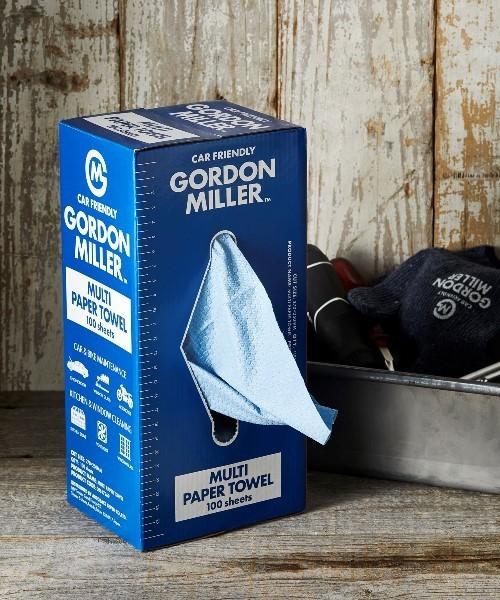 [JACK & MARIE] GORDON MILLER マルチペーパータオル 100枚BOXタイプ