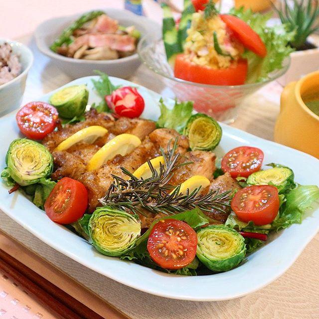 オーブンで鶏肉の美味しいレシピ☆記念日2