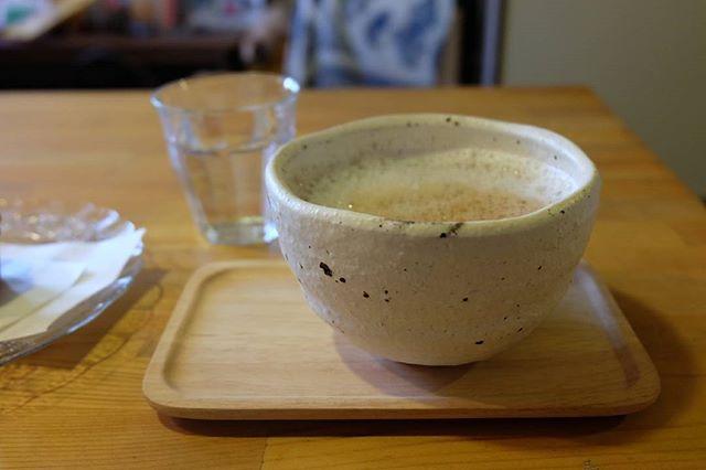 ほっこりする美味しいカフェオレ