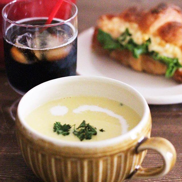 まろやか。パプリカの簡単ポタージュスープ