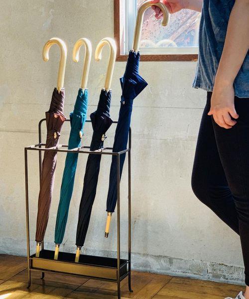 傘のデザインが堪能できるスタンド