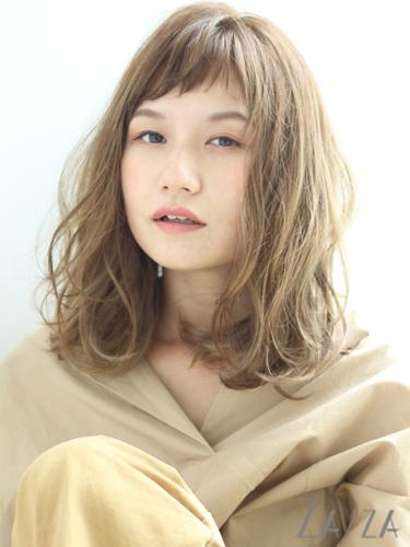 短め前髪×ミディアム6