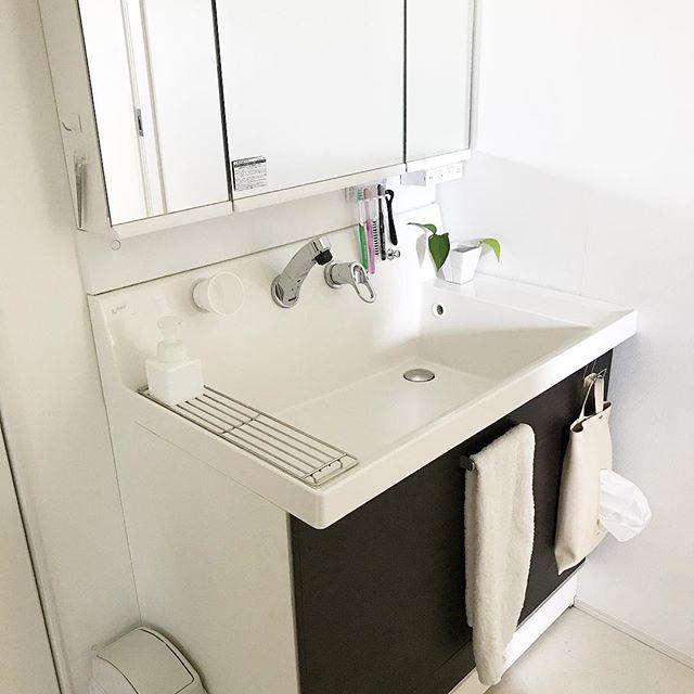洗面台がすっきりするその他収納アイデア2