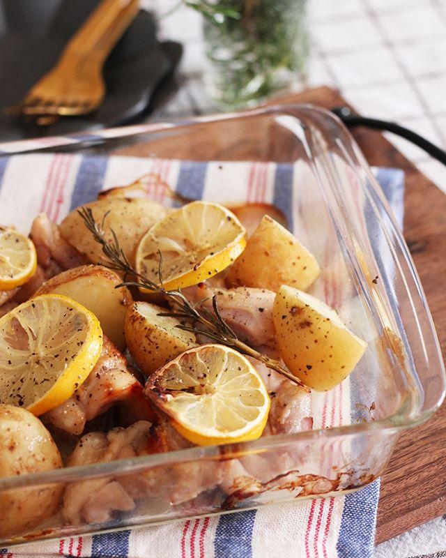 焼くだけ簡単な鶏もも肉レシピ☆おもてなし4