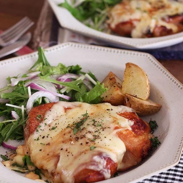 焼くだけ簡単な鶏もも肉レシピ☆おもてなし