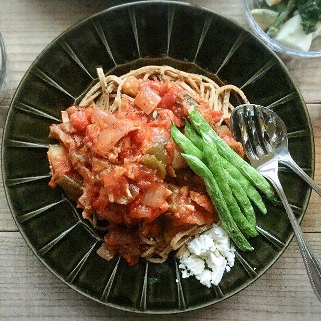 野菜たっぷりの夕飯☆主食2