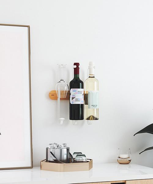 お気に入りのワインをインテリアに取り入れる