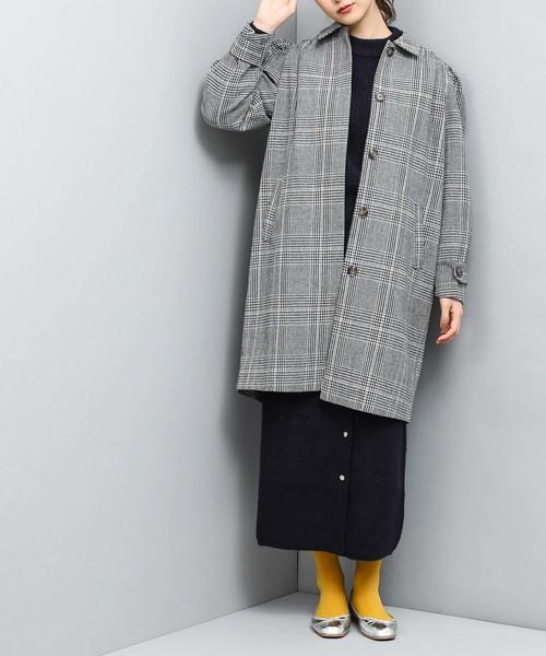 [ViS] 【高橋愛×ViS】チェック柄コート
