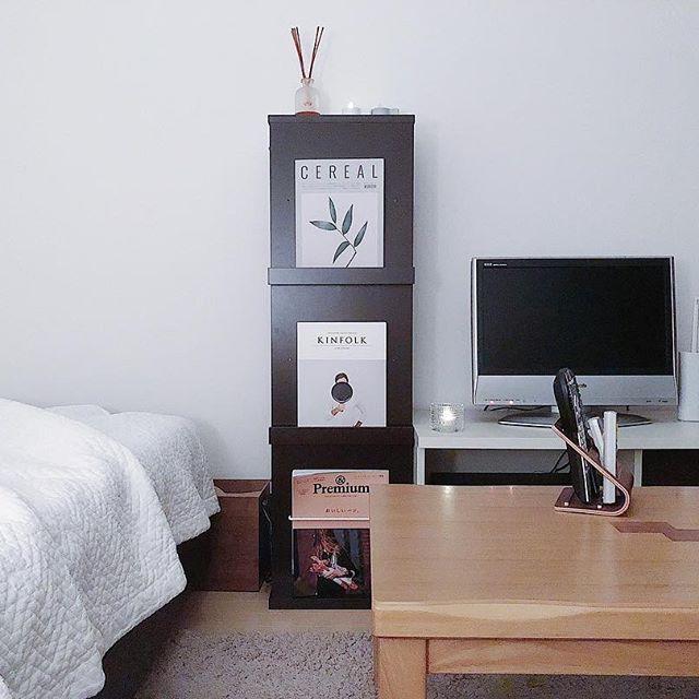 6畳のリビングレイアウト『テレビ』2