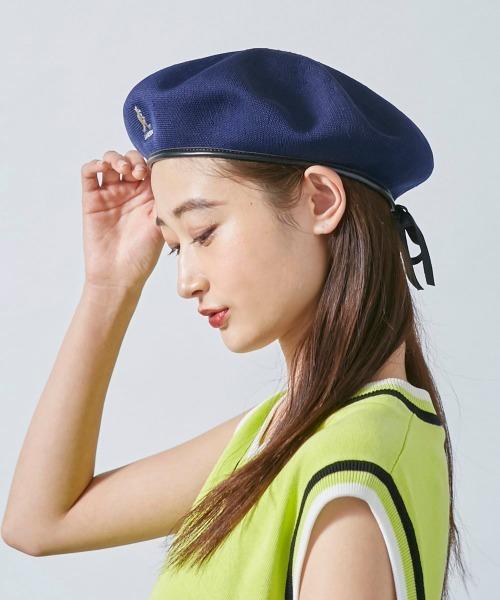 ベレー帽に似合うロングヘアアレンジ【春夏】2