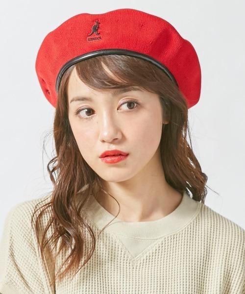 ベレー帽に似合うロングヘアアレンジ【春夏】
