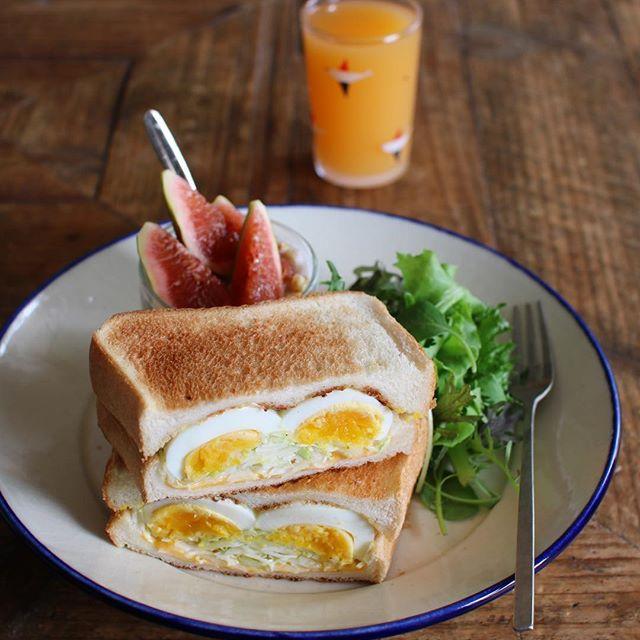 理想の朝ごはんで健康的なメニュー☆洋食4