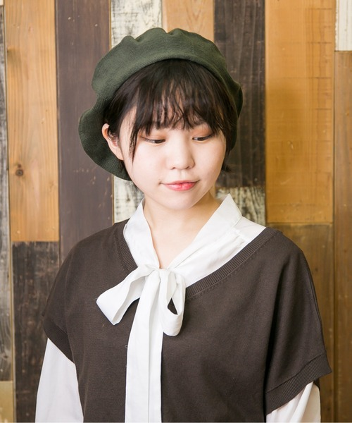 [Shop無] DR COTTON Seamless Beret ドラロンシームレスベレー