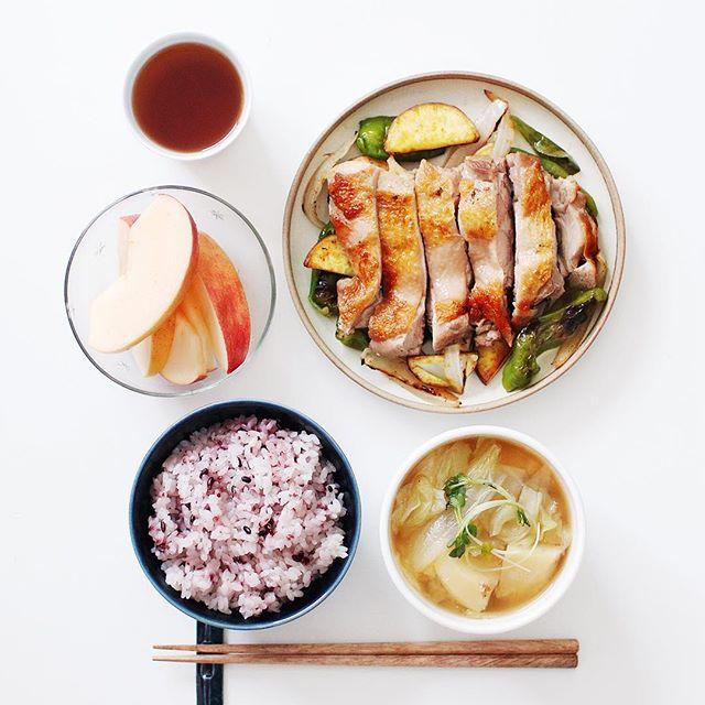 理想の朝ごはんで健康的なメニュー☆和食・肉