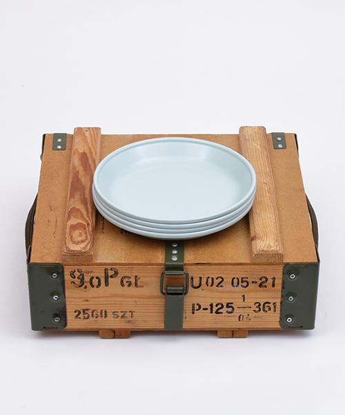[Clef OUTDOOR] 【プラットチャンプ】ザ・カレープレート23 4PSセット(ミリタリーボックス付き)