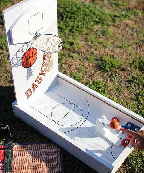 遊び心溢れるデザインが魅力のバスケットボールゲーム