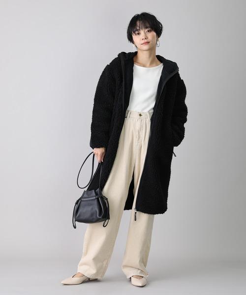 大阪|12月服装|ボアフリースコーデ