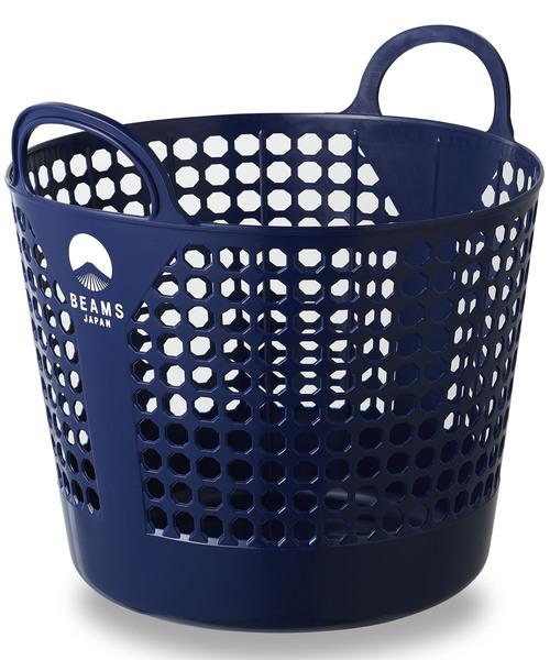 おしゃれロゴ入りの定番洗濯カゴ
